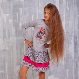 Платье для девочки ZG 14129-FM2