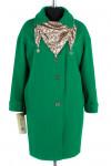 12-0059 Пальто летнее Жаккард Зеленый