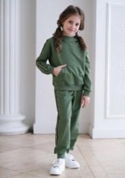 трикотажный костюм М*аранта зеленый