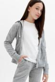 Куртка детская для девочек Vuoksi серый