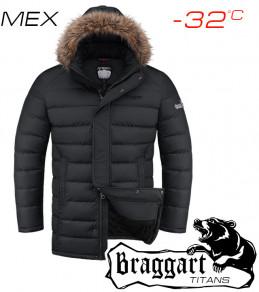 Куртки классные больших размеров 2852 черный (2
