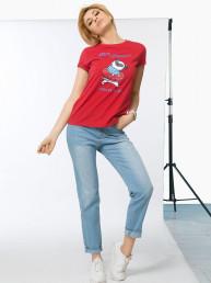 DFT6766/1 футболка женская