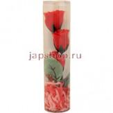 Мыло туалетное цветочное KUMO - Роза в пластиковой тубе