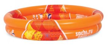 Т55312СОЧИ 2014 надув.детский 2-уровневый бассейн с надув.д