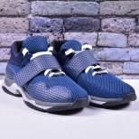 Мужские кроссовки на липучке (текстиль/экомех - на выбор)