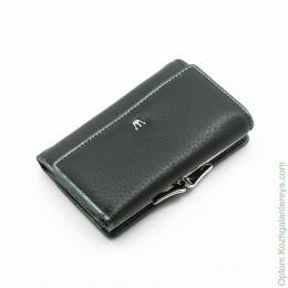 Маленький женский кожаный кошелек Sergio Valentini СВ 8098-0