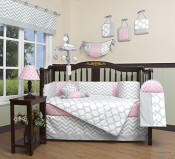 GEENNY Boutique Baby 13 Piece Crib Bedding Set