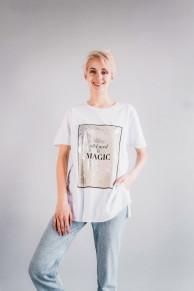 Женская футболка CR-0026-WHT от Caramella