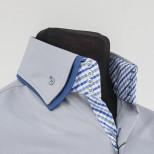 Мужская рубашка с двойным воротником Tunica Benefit