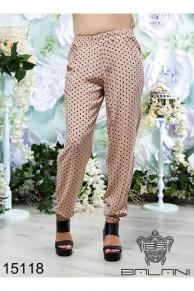 Штапельные брюки - 15118