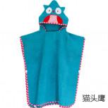Детское полотенце-халат