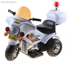 """Электромобиль """"Полицейский трайк"""