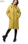 "Пальто ""Ингрид"" Артикул: 18422  горчица"