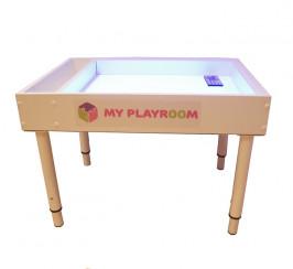 """Световая песочница Myplayroom """"Плюс"""" + ножки +игровое поле"""