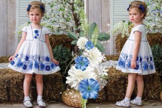 Платье М*аняша синее