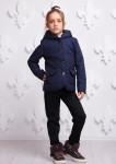 Куртка Женева синяя подросток 000351
