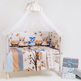 Набор в кроватку 7 предметов Дизайн 13