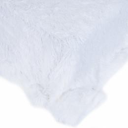 Покрывало-плед шиншилла 220/240 цвет белый