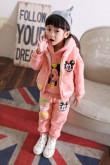 Спортивный детский брючный костюм с длинным рукавом WanRui