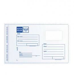 Пластиковый пакет с логотипом Почта России 162x229 Тип С5