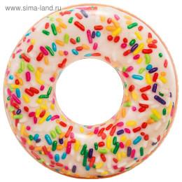 Круг для плавания «Пончик» d= 114 см, от 9+ 56263NP INTEX