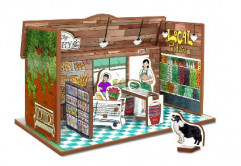 Organic Grocery Store Playset