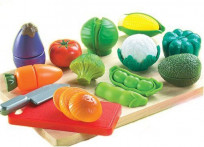 Small World Toys Living - Peel 'N' Play 13 Pc. Playset