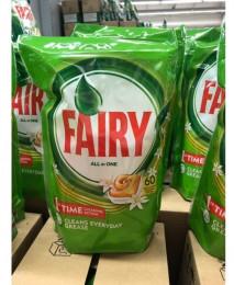 Капсулы для п. машины Fairy All in One 31 шт (ваниль