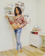 Фото животиков на 30 неделе беременности