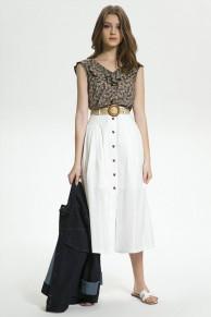 пояс, юбка LaVeLa Артикул: L20112 белый