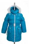 10-0059 Куртка зимняя Плащевка Бирюза