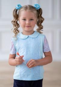 блузка трикотажная Л*анви