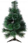 Искусственная елка с заснеженными кончиками - высота 60 см.