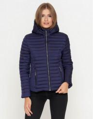 """Куртка синего цвета женская Braggart """"Youth"""" модель 25093 К"""