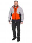 Мужской горнолыжный костюм, 2019-2020, арт.A-8818, Оранжевый