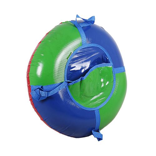 Санки-ватрушки ЕДУ-ЕДУ надувные, 3-х цветные, с камерой НПЭК