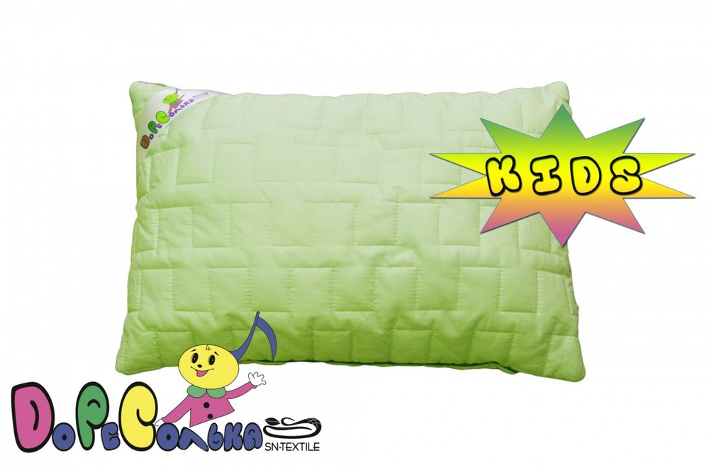 Подушка Панда KIDS стеганая  бамбук 50х70