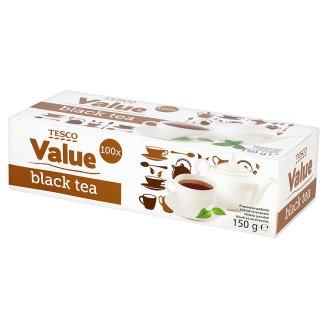 чай черный 100 пакетиков Tesco Value