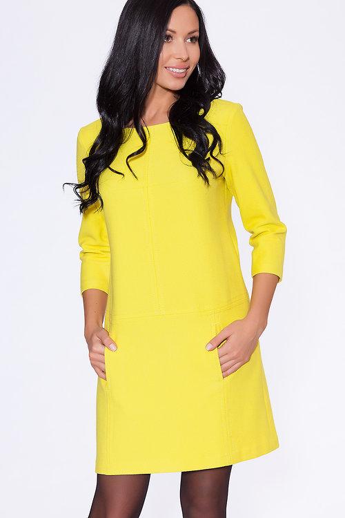 Платье Лимонный