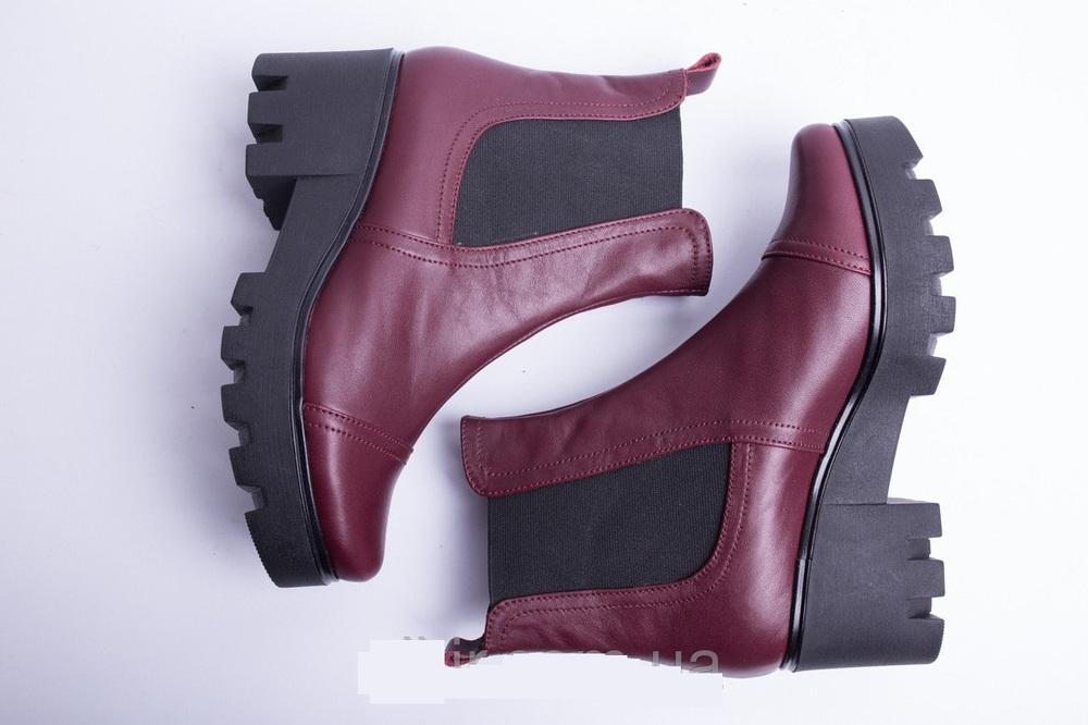 Ботинки из натуральной кожи №333-3