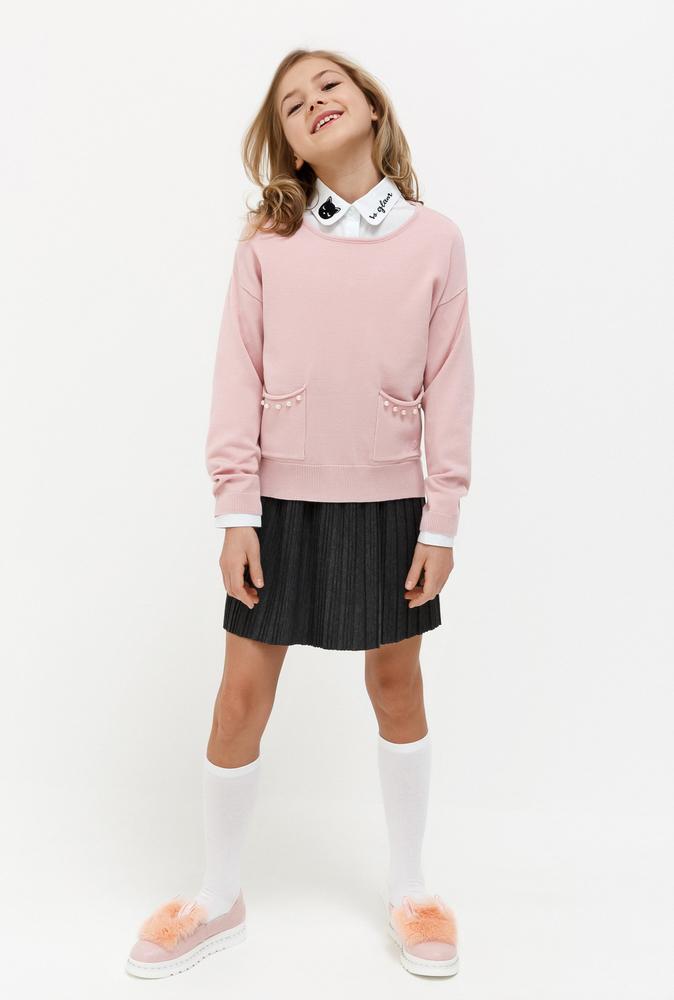 Джемпер детский для девочек Carnation светло-розовый