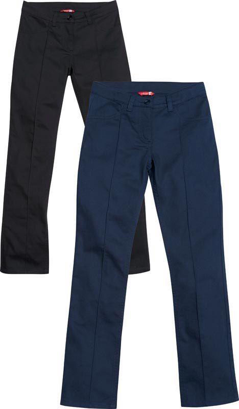 брюки синие для девочек