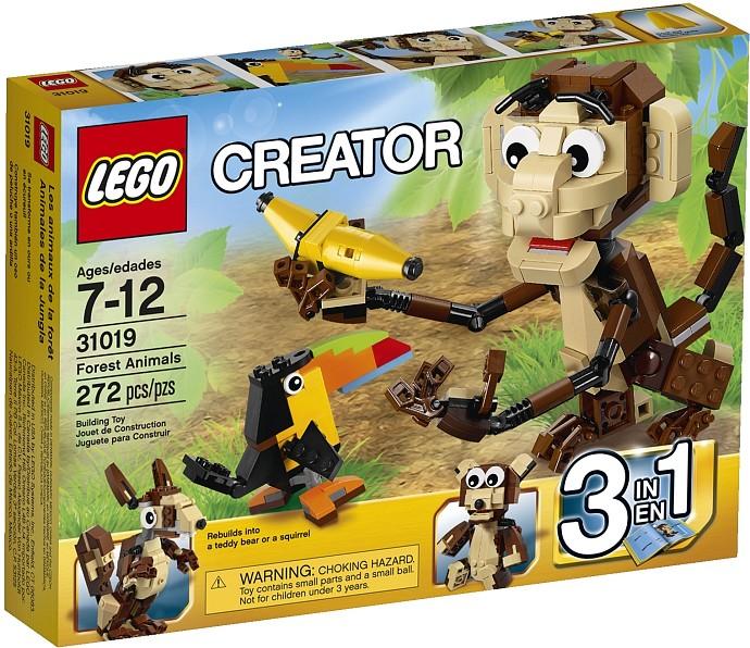 лего lego 31019 FOREST ANIMALS  (ОЗОРНЫЕ ЖИВОТНЫЕ)