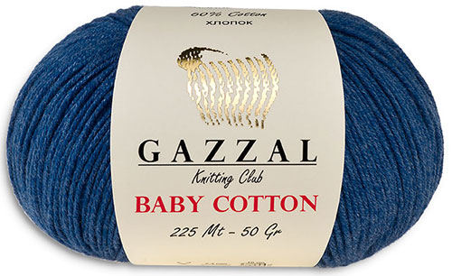 Пряжа Baby Cotton Gazzal