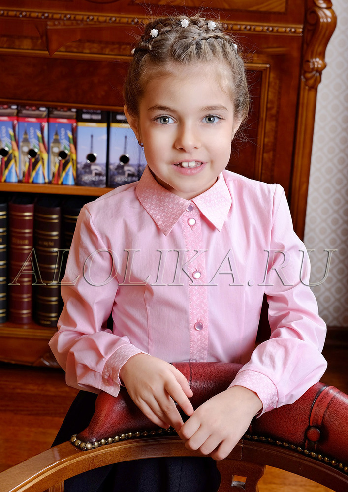 Блузка О*ксана розовая