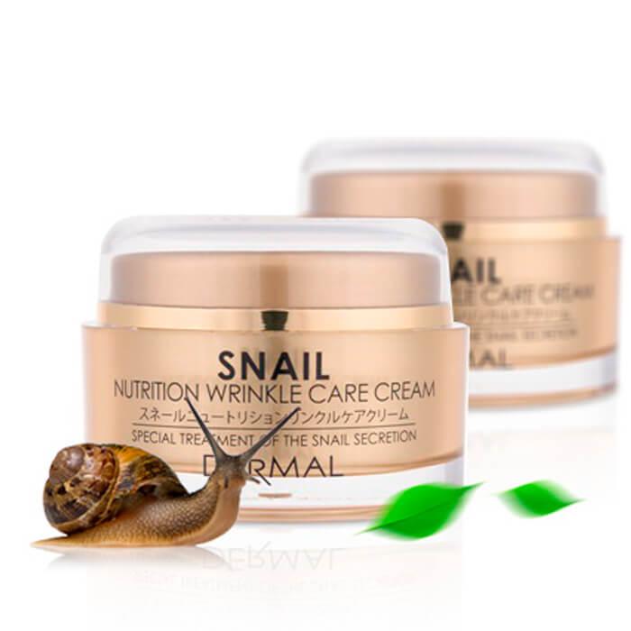 [[Dermal] Крем д/лица коллагеновый с экстрактом улитки Snail