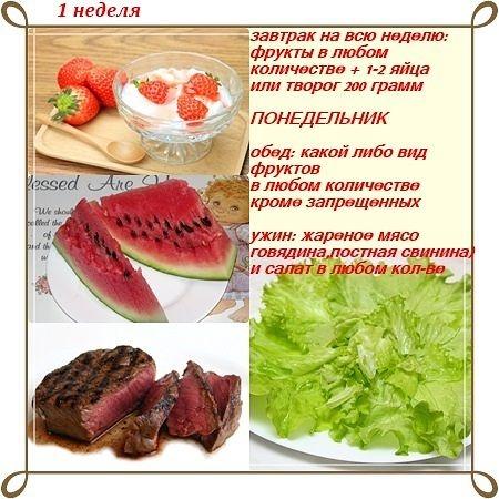 Как приготовить салат на диете магги