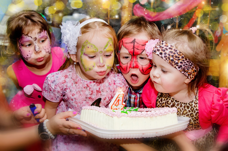 Смешные картинки детского праздника
