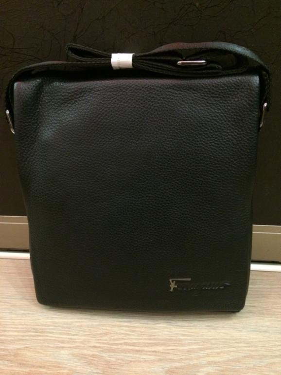 Ferragamo сумка кожа для планшета