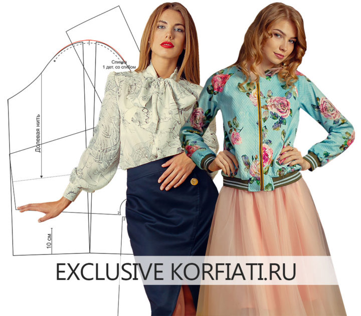 8c0851c01a8 Внешний вид блузки или жакета во многом зависит от внешнего вида и посадки  рукава. И именно рукав во многом определяет качество пошива изделия